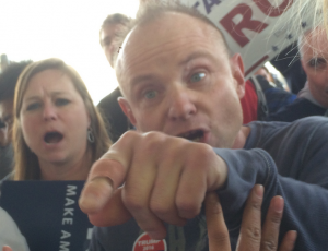 Angry Trump Voter Photo by Sam Allard and Eric Sandy 2016
