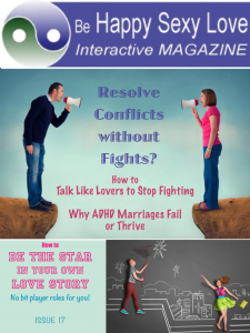 Talk like lovers to stop fights and love well Issue 17 HappySexyLoveAPP.com