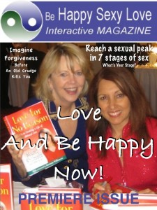 Couples find bliss in gift premiere issue of Happy Sexy Love APP on iTunes and Google Play App stores.