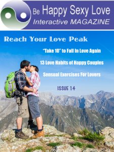 Take 10 to Fall In Love Again. Issue 14 HappySexyLoveApp.com