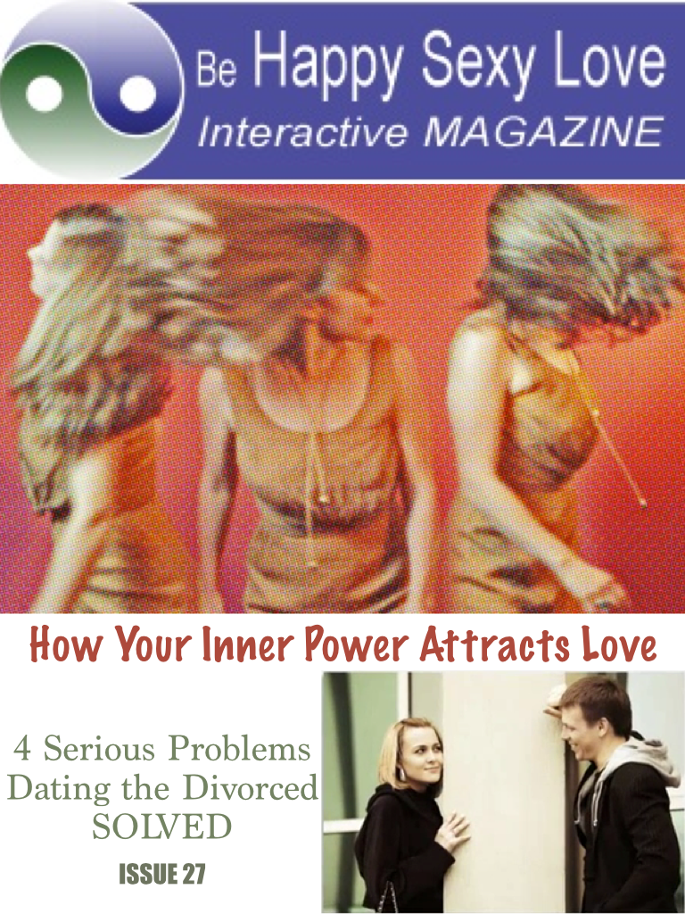 Are you free to love again after divorce? Issue 27 HappySexyLove.com